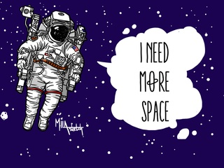 """LOCALmotive presents """"I Need More Space: The Art of Mila Sketch"""""""