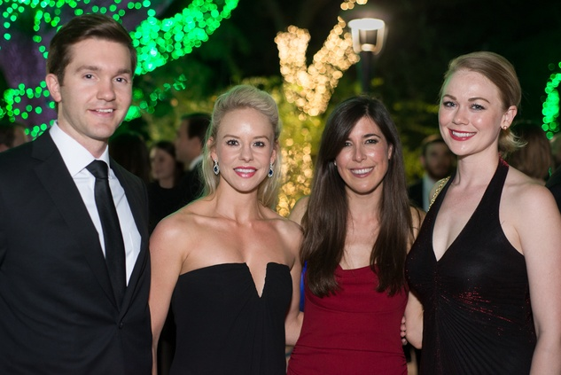 News, Shelby, Barbara Bush Literacy YP gala, Christopher Miorin, Morgan Bellows, Sarah Perkins, Leah Fielder