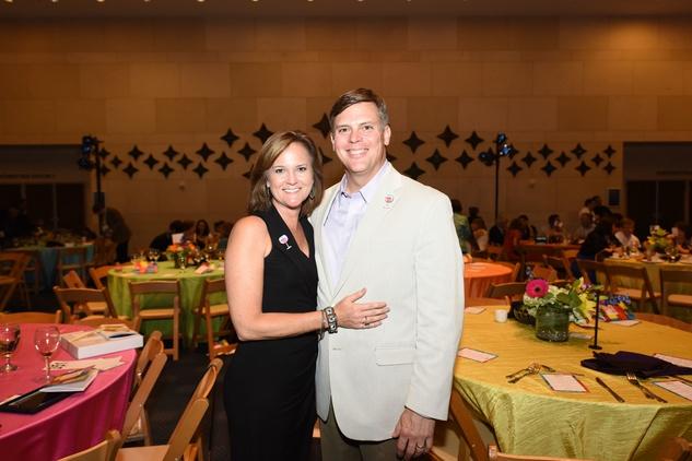 News, Shelby, Casa de Esperanza dinner, April 2015, Mary Ellen Prochazka, Scott Prochazka