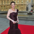 Louvre gowns Hallie Vanderhider in Vera Wang June 2013