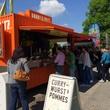 Olympic Park Munich Currywurst truck