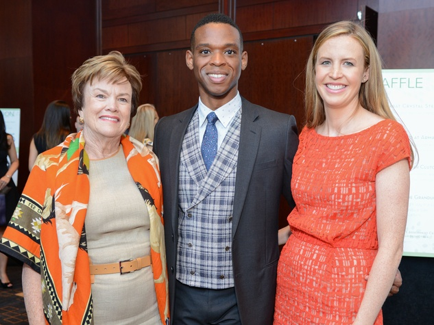 News, Shelby, Children's Assessment Center luncheon, May 2015,Mary Trainer, Christopher Mitchell, Caroline Frantz