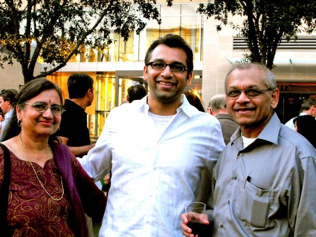 News_Indian Film Festival_Sept. 2011_Soham Mehta_parents