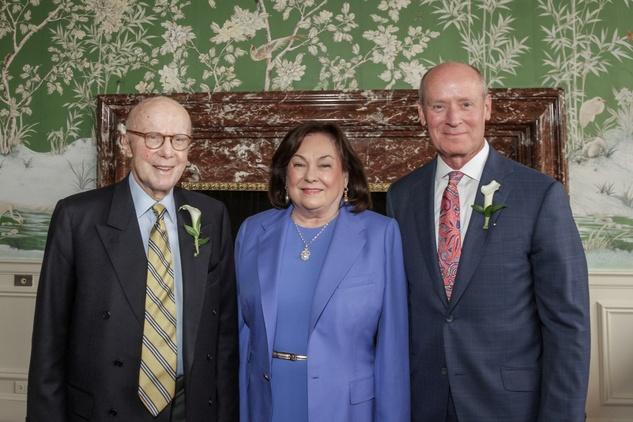 Men of Distinction, Gerald Hines, Rose Cullen, Dr. Mark Kline