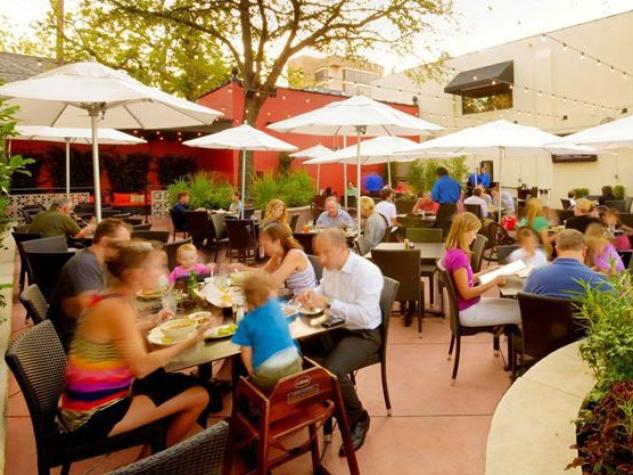 Patio at Mi Cocina restaurant in Lakewood