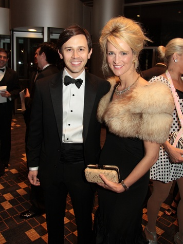 Matt and Catherine Matthews at West University Park Lovers Ball February 2014