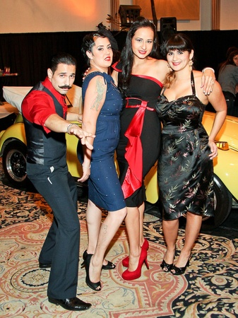 Orange Show Gala, November 2012, Carlos Cuevas, Raven Wilson, Rojo, Valeria Orso
