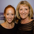 Alex Winkelman and Carol Adams at Dancing With the Stars preview in Austin