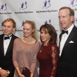 120 Pierce Bush, from left, with Jewel, and honorees Maria and Neil Bush at the Big Brothers Big Sisters gala.