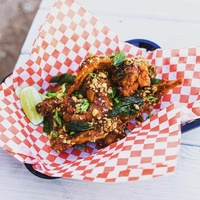 Soursop food truck chicken wings