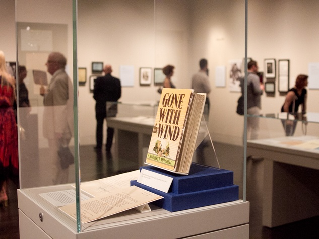 Making of Gone With the Wind at Harry Ransom Center Gone With the Wind First Edition Novel