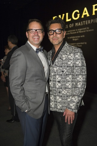 78 Todd Fiscus and Ceron at the Bulgari exhibition dinner May 2014