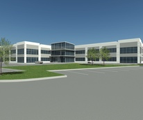 Ralph Bivins, spec office buildings, Mason Creek Office Center, courtesy Powers Brown Architectur