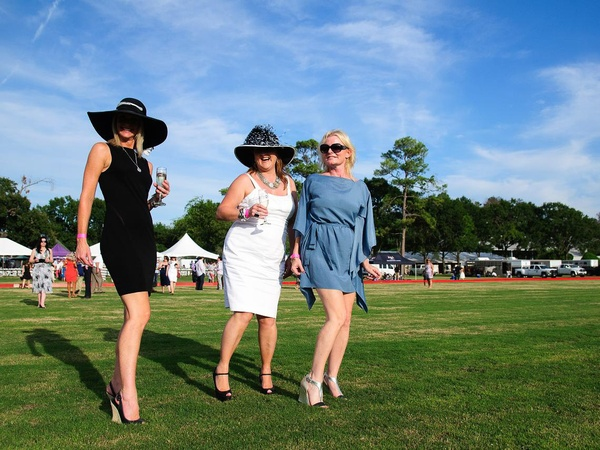 Texas Children's Hospital Polo Classic, Hats & Horses, Cathy Tuttle, Karen Winfield and Karen SlatonSeptember 2012, ladies
