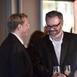 Matthew Burrus-Pearce, left, and Michael Pierce at Alex Martinez's birthday party July 2014
