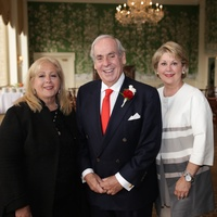 Anne Incorvia, John Daugherty, Cheri Fama at 50th anniversary celebration