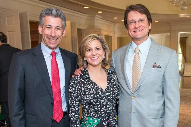 Houston, News, Shelby, Depelchin Children's Center Luncheon, May 2015, Joe Greenberg, Debra and Mark Gregg