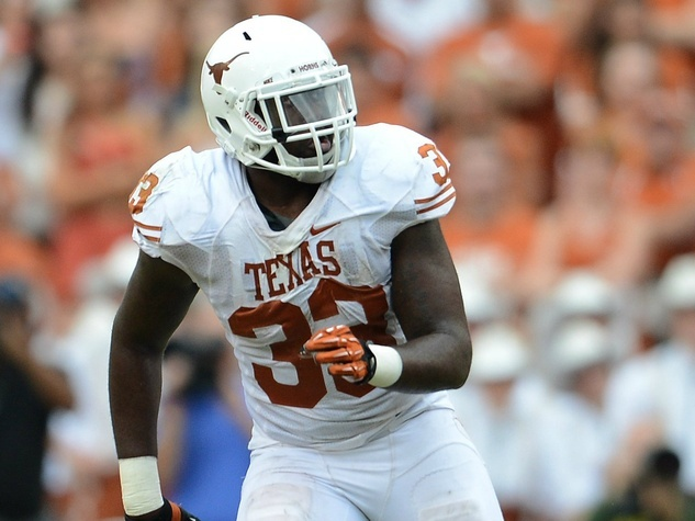 Texas Longhorns linebacker Steve Edmond