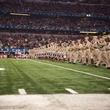 Texas A&M football fans at Cowboys Stadium