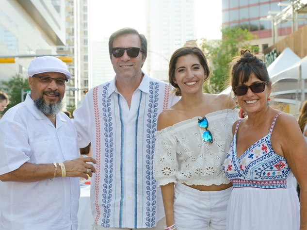 2nd Street District White Linen Night 2016 Kevin Benz Olga Campos Benz
