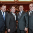 Men of Distinction dinner, David Trice, Joey Dupuis, Bret Aldridge, Mike Shaw