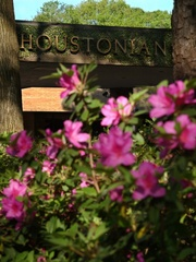The Houstonian Hotel, Club and Spa, entrance, flowers