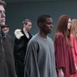 Models walk the runway at the adidas Originals x Kanye West YEEZY SEASON 1 fashion show