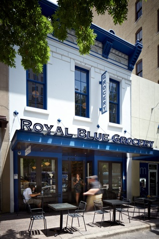 Austin Photo Set: News_Adrienne Breaux_Jamie Chioco_July 2011_royal blue exterior