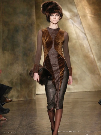 Fashion Week fall 2013, February 2013, Donna Karan, Look 14