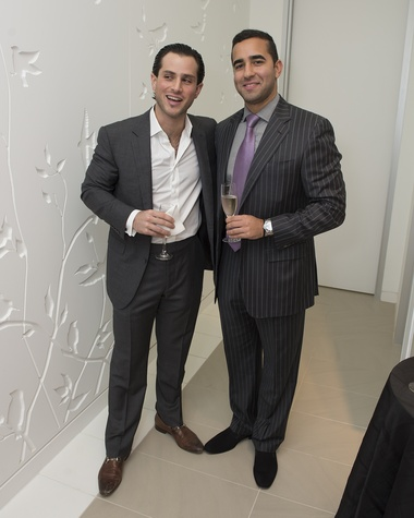 15 Amir Taghdisi, left, and Michael Afshari at the Vitenas party December 2014