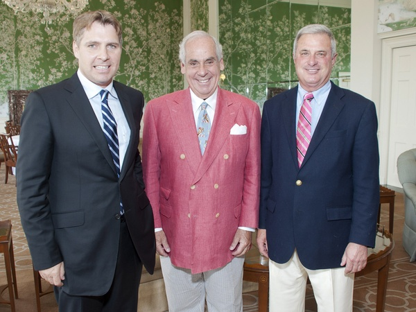 The Eden Club cocktail reception, June 2012, Tom Lawrence, John Daugherty Jr., Larry Anton