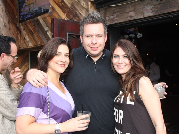 Eighteenth Bar opening, June 2012, Lisa Gochman, Chris Beverly, Brenna Croom
