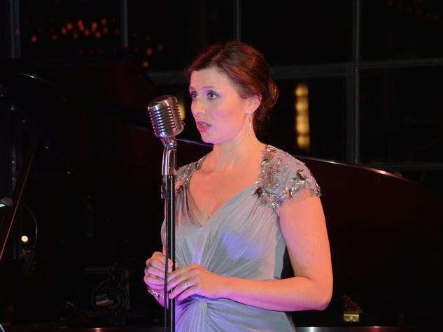 Callie Denbigh performs at the 2017 Da Camera Gala