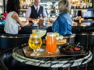 Goodall's Kitchen & Bar Austin restaurant Hotel Ella drinks cocktails2015
