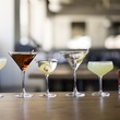 Houston, new happy hour deals, May 2017, southside, manhattan, gin martini, vodka martini, eastside, negroni at Relish restaurant