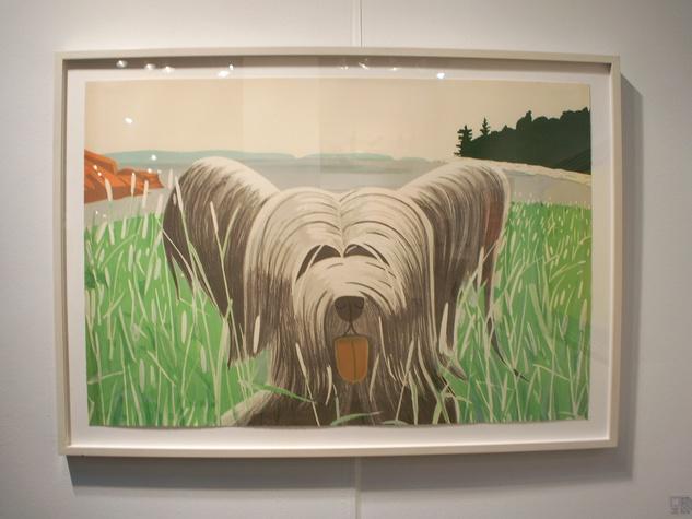 1 Texas Contemporary Art Fair preview October 2013 Alex Katz Dog at Ducktrap