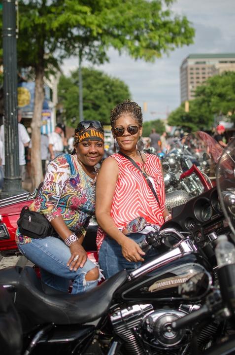 rot rally Olivia and Sandra Clark