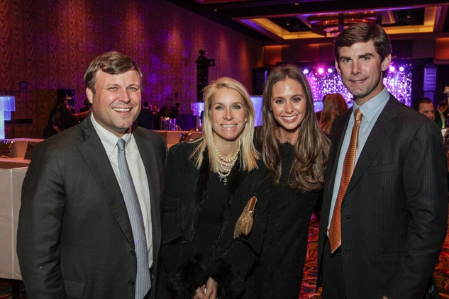 13 8198 Stephen and Greer Dexter, from left, and Kitty and Lex Hochner at the UT Health Gala November 2014