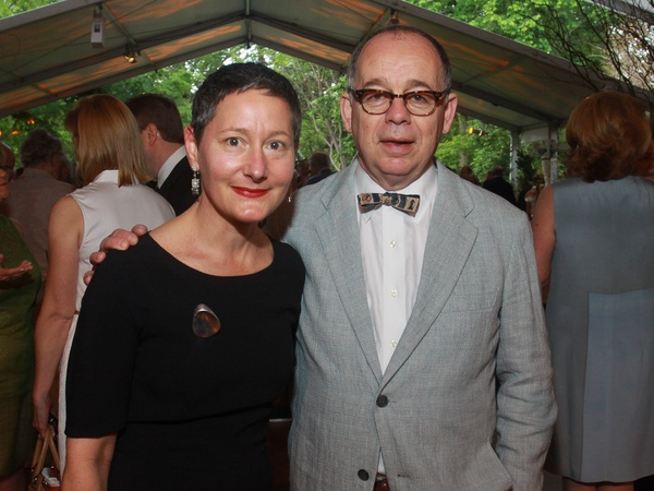 Bayou Bend Garden Party, April 2013, Mary Haus and Willard Holmes