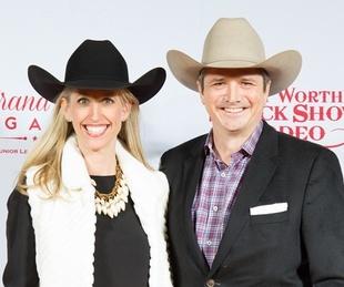 Fort Worth, JLH Grand Entry Gala, January 2018, Natalie Martin Brant Martin
