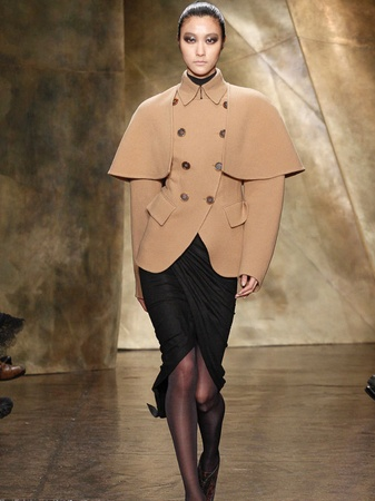 Fashion Week fall 2013, February 2013, Donna Karan, Look 11