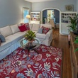 Historic Hyde Park Homes Tour 2015 1937 bungalow house interior living room