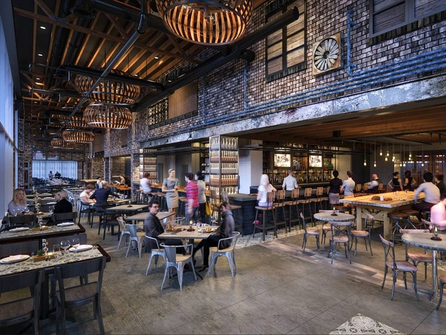 Houston, new happy hour deals, feb 2017, Grotto downtown interior