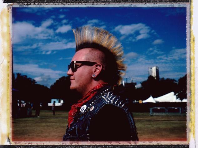 Fun Fun Fest Polaroid Experience 2013 in Austin Punk