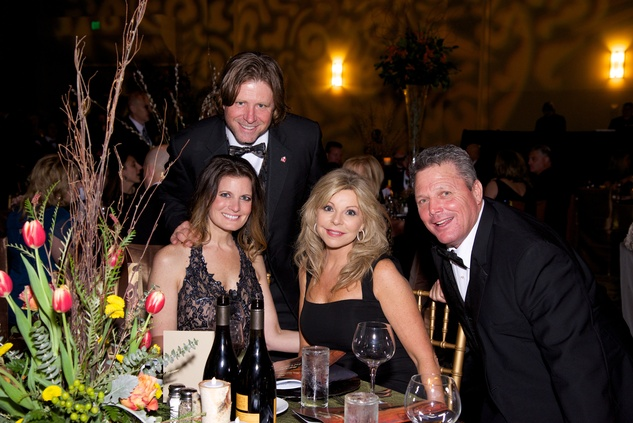 Natalie and Alan Noack from left, and Colleen and Bobby Ayers at the Montgomery County Heart Ball March 2014