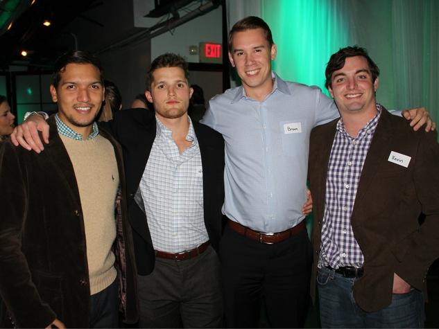 Carlos Zarazua, Winston Smart, Bryan Crabb, Kevin Benson, Reilly's Whiskey