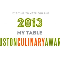 My Table Houston Culinary Awards time to vote