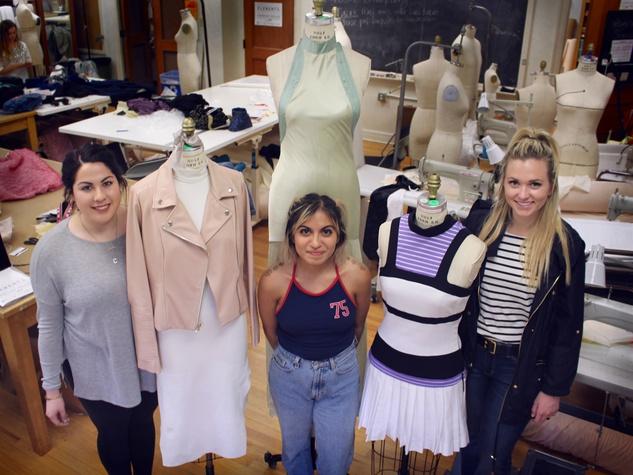 University of Texas fashion show Elements preview class April 2016 Carolina Ramos Victoria Espinoza Emily Noel
