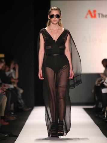 Clifford New York Fashion Week fall 2015 The Art Institutes winners February 2015 Alexa DiBasio - LOOK 6