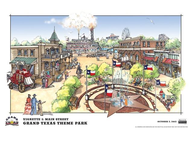 Grand Texas plans November 2013 Main Street